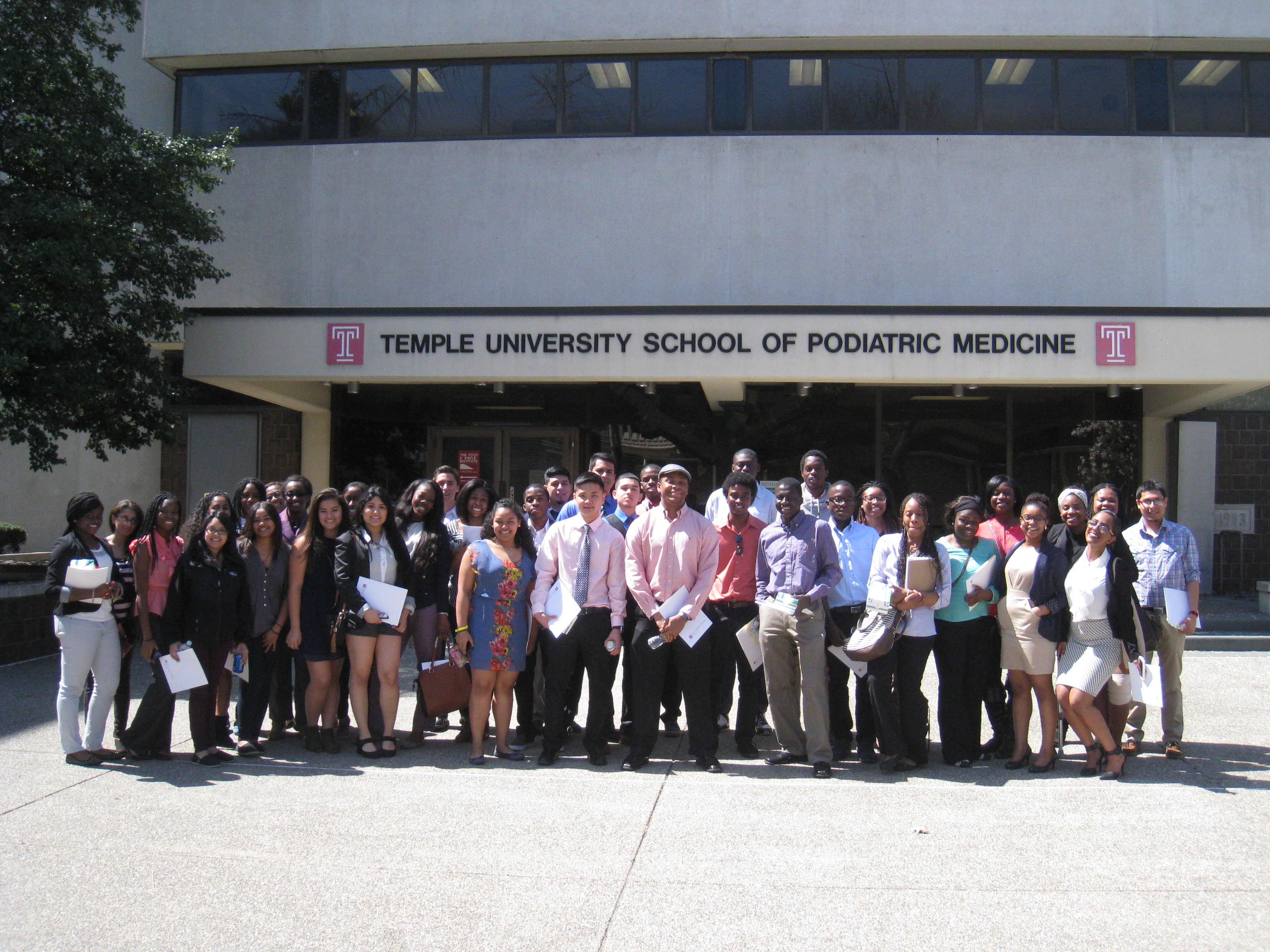Temple University School of Podiatric Medicine - 2014